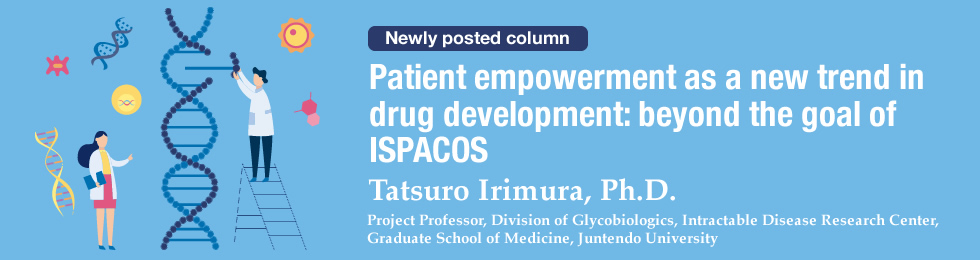 Patient empowerment as a new trend in drug development: beyond the goal of ISPACOS